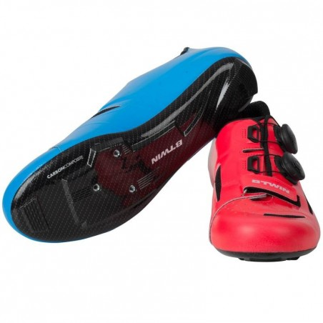 CHAUSSURES VELO ROUTE 900 ROSE/BLEU