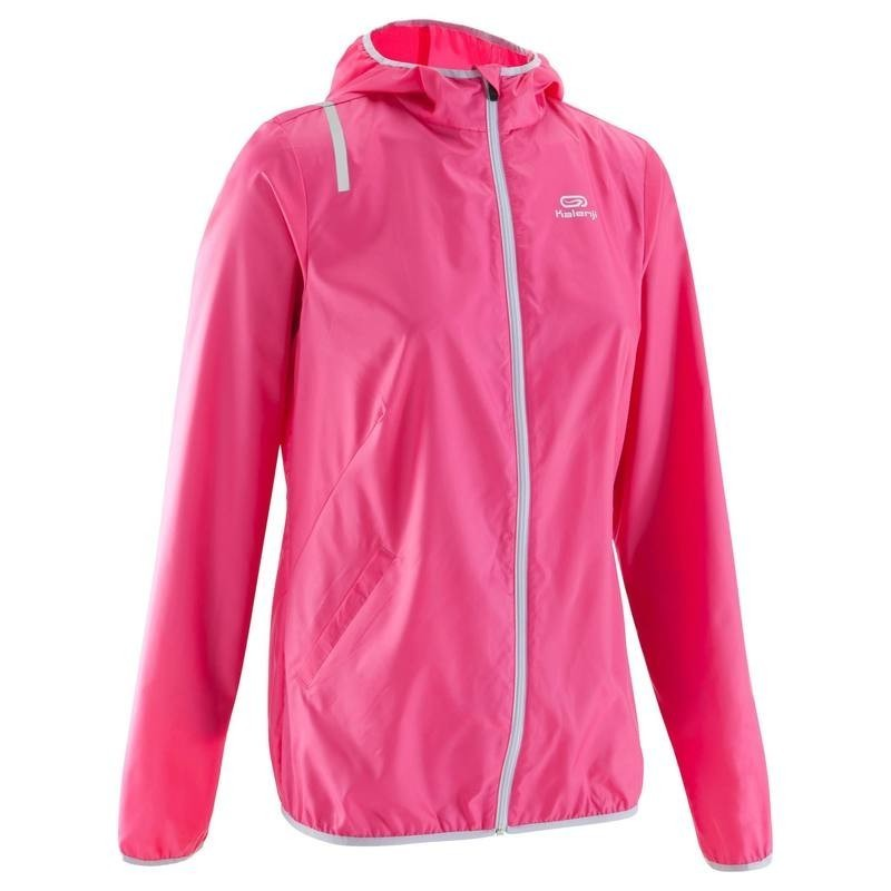 a98ad4dd4b2 Avis   test - VESTE COUPE VENT RUNNING FEMME RUN WIND ROSE - KALENJI ...