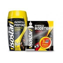 Isostar Lot Hydrate & Perform citron + Gel Energy - Cola Diététique Boissons