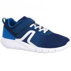 Chaussures marche sportive enfant Soft 140 marine / blanc