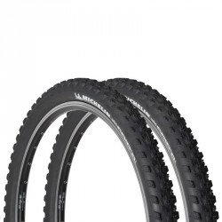 LOT DE 2 PNEUS VTT WILDGRIPR 27,5x2,1 TUBELESS READY / ETRTO 54-584