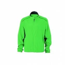 James et Nicholson veste légère running jogging JN476 - vert - homme - course à pied