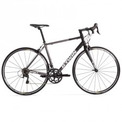 VELO ROUTE TRIBAN 540 GRIS/NOIR