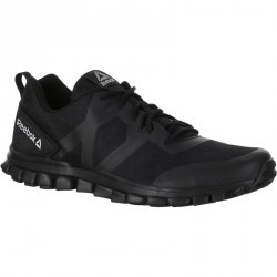 Chaussures marche sportive homme realflex walk noir