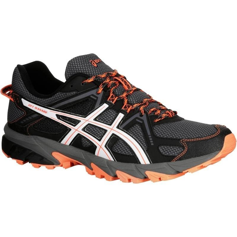 avis et test sur chaussure trail running homme asics gel kanaku 2 noir orange asics. Black Bedroom Furniture Sets. Home Design Ideas