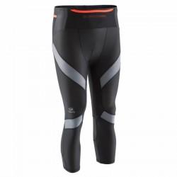 Corsaire compression trail running homme noir gris