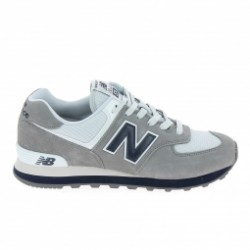 Basket mode, SneakerBasket mode - Sneakers NEW BALANCE ML574 D Gris Blanc