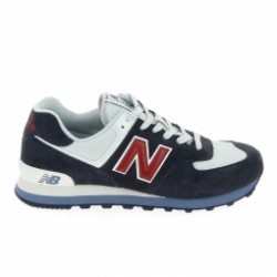 Basket mode, SneakerBasket mode - Sneakers NEW BALANCE ML574 D Gris Bleu