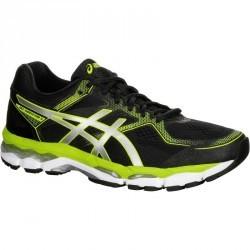 chaussure de course à pied ASICS GEL SURVEYOR 5 noir jaune
