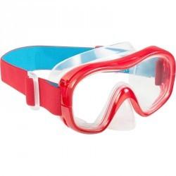 Masque de snorkeling 520 rouge turquoise