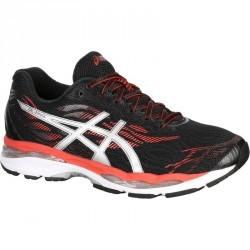 chaussure de running homme ASICS GEL ZIRUSS rouge noir