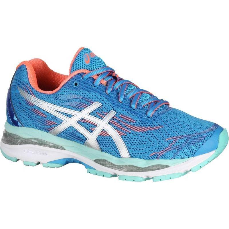 avis test chaussure de running femme asics gel ziruss bleu corail asics prix. Black Bedroom Furniture Sets. Home Design Ideas