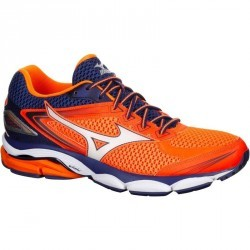 chaussure running homme MIZUNO WAVE ULTIMA 8 orange bleu