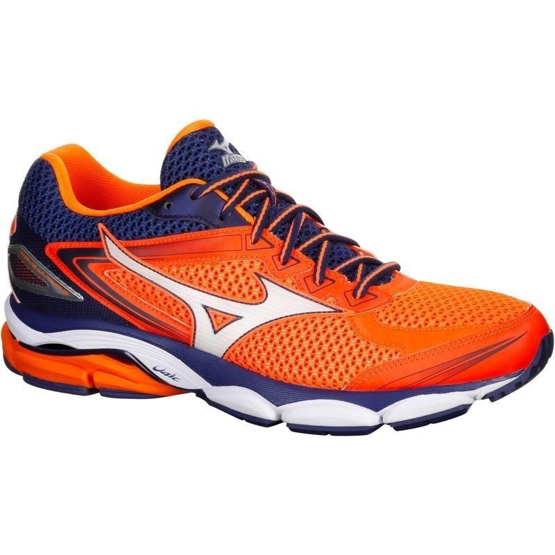 chaussure running homme MIZUNO WAVE ULTIMA 8 orange bleu avis test