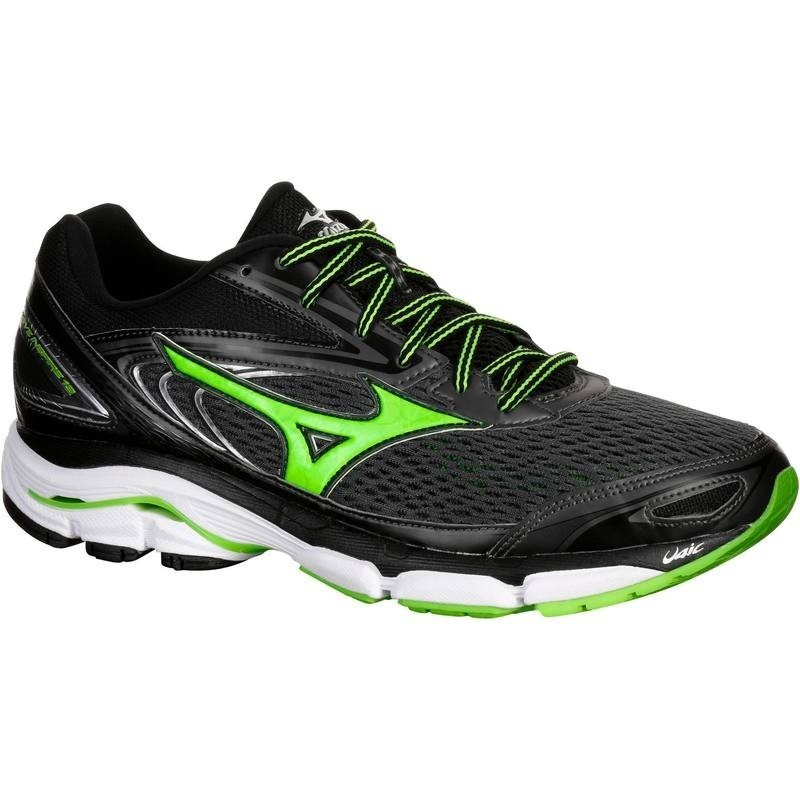 avis test chaussure de running homme mizuno wave inspire 13 noir vert mizuno prix. Black Bedroom Furniture Sets. Home Design Ideas
