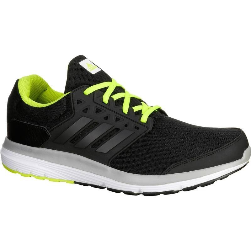 how to buy buy best multiple colors chaussure running course à pied homme ADIDAS GALAXY ELITE noir jaune - avis  / test