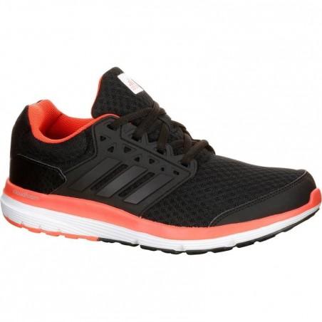 Chaussure running course à pied femme ADIDAS GALAXY ELITE noir rose