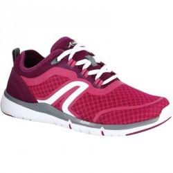 Chaussures marche sportive femme Soft 540 Mesh rose / violet