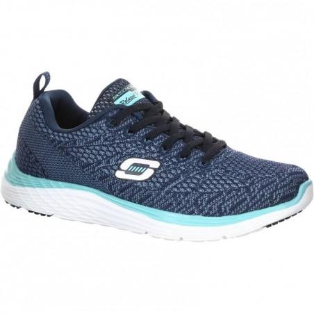 Chaussures marche sportive femme Valeris bleu