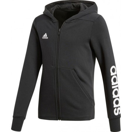 SWEAT SHIRT Multisport fille ADIDAS YG LINEAR FZ HD
