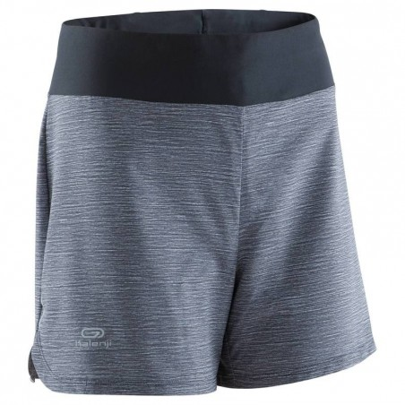 SHORT RUNNING FEMME RUN DRY GRIS CHINE