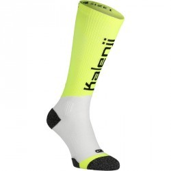 CHAUSSETTE de COMPRESSION de RUNNING KANERGY JAUNE