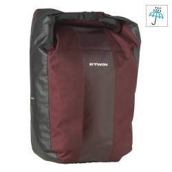 SACOCHE PORTE-BAGAGE VELO 500 20L IMPERMEABLE