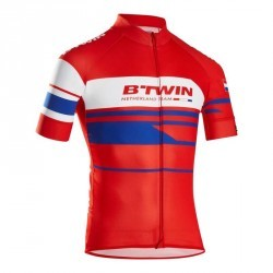 MAILLOT VELO MANCHES COURTES 900  PAYS BAS
