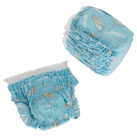 Culottes de bain jetables pour activités aquatiques pour bébés de 11-18 kg