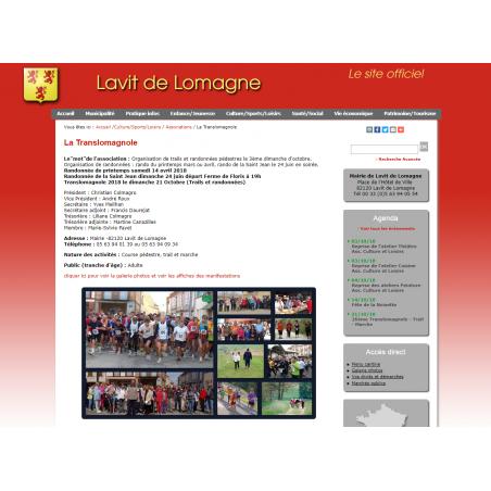 Course La translomagnole (Lavit de Lomagne 82120 - Tarn et Garonne)