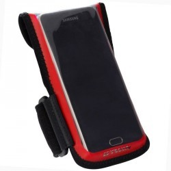 Support vélo smartphone 500 Rouge
