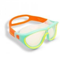 Masque de natation SWIMDOW Taille L bleu jaune