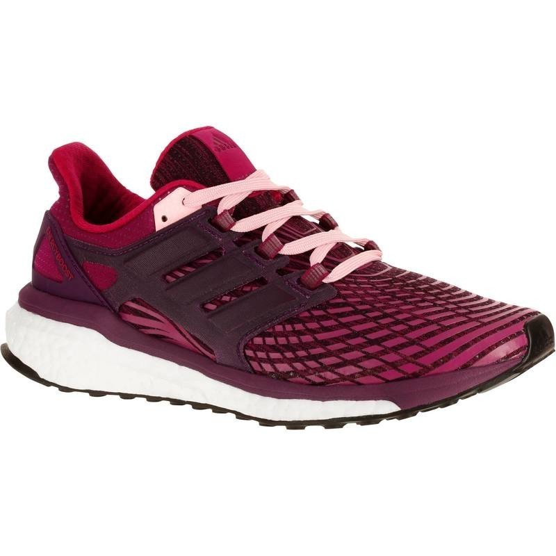 watch 825c6 7cf6b CHAUSSURE RUNNING ADIDAS ENERGY BOOST 3 FEMME ROUGE