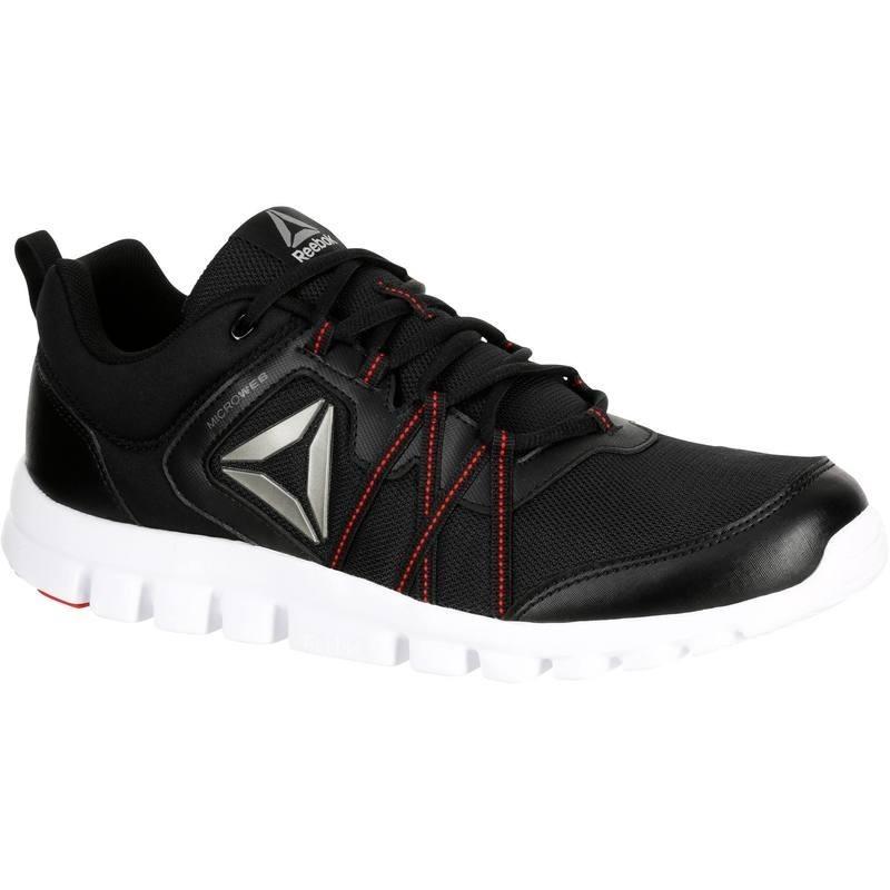 Avis   test - Chaussures marche sportive homme yourflex noir   rouge ... 63adf52c50