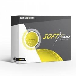 Balle de golf SOFT 500 Matte X12 Jaune