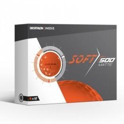Balle de golf SOFT 500 Matte X12 Orange