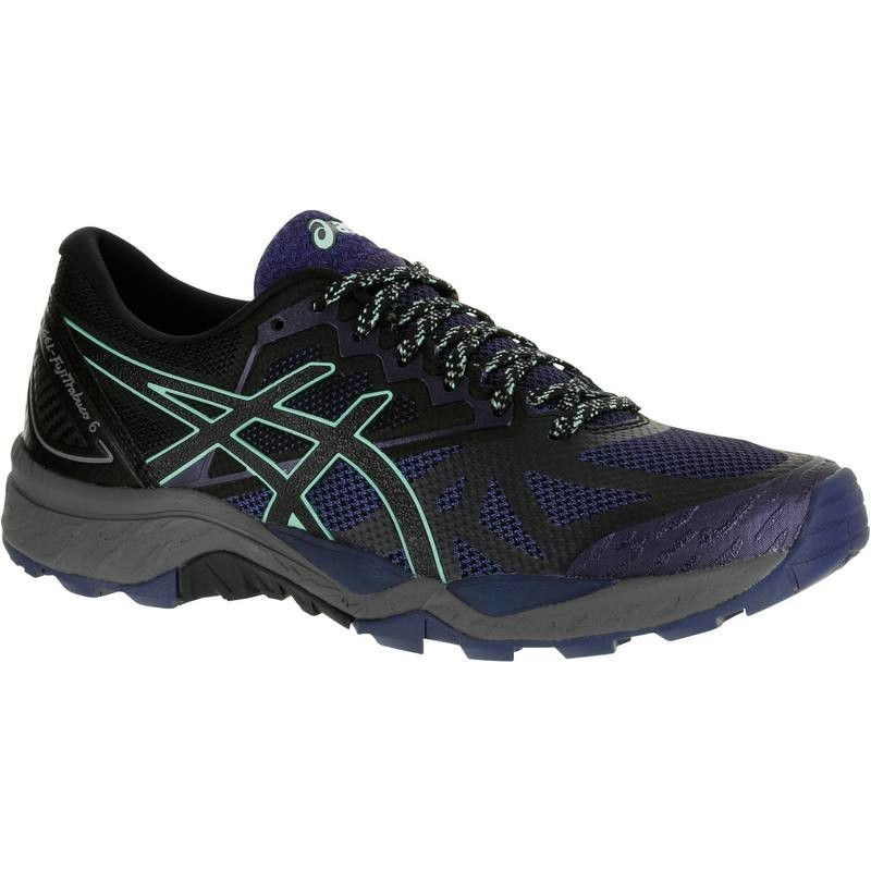 avis test chaussures trail asics gel fujitrabuco 6 femme noir asics prix. Black Bedroom Furniture Sets. Home Design Ideas