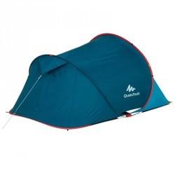 Double toit pour tente Quechua 2 SECONDS 2 bleu