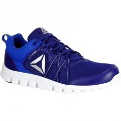 Chaussures marche sportive hommes yourflex bleu
