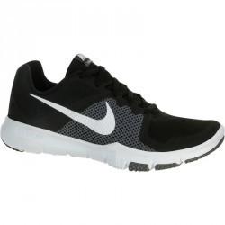 Chaussures marche sportive homme Flex control noir / blanc