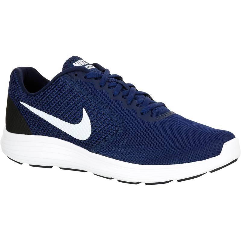 Chaussures marche sportive homme revolution 3 bleu blanc avis test