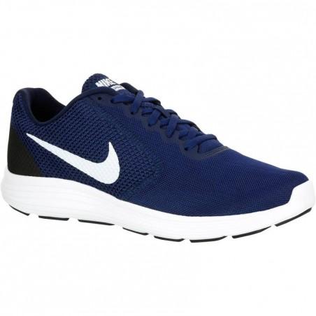 Chaussures marche sportive homme revolution 3 bleu / blanc