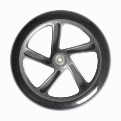 1 grande roue de trottinette adulte 200 mm
