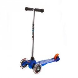 Trottinette 3 roues garçon MINI MICRO bleue