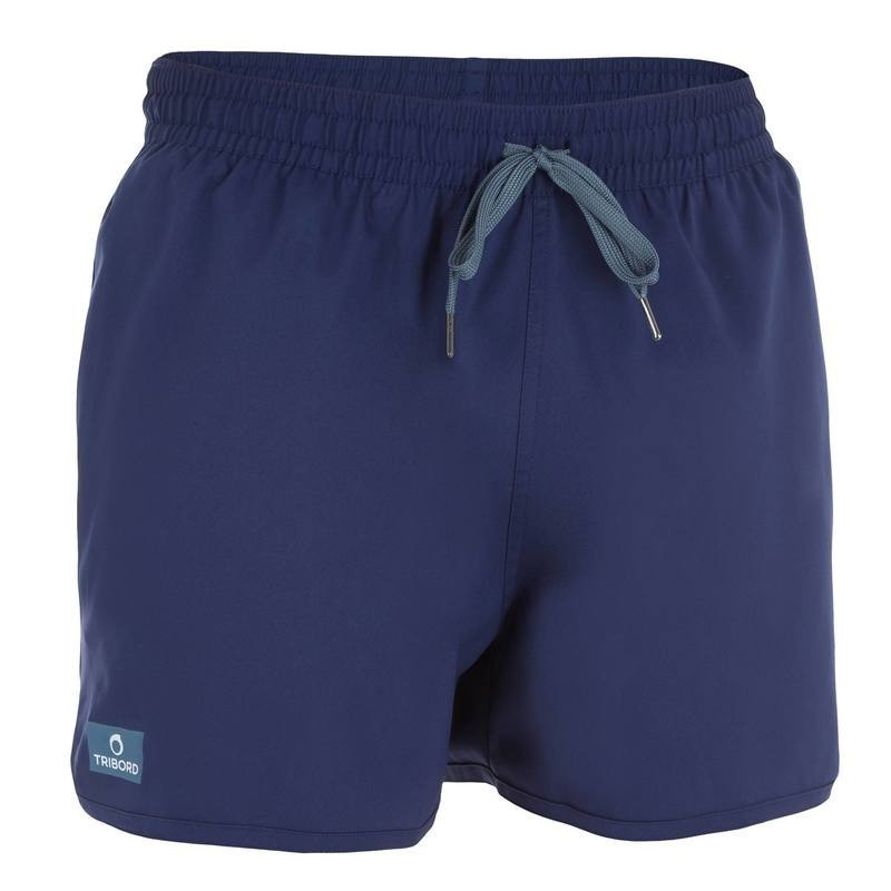 Boardshort court bidarte uni bleu