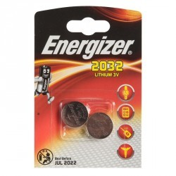 Lot de 2 piles ENERGIZER CR2032 3 volt
