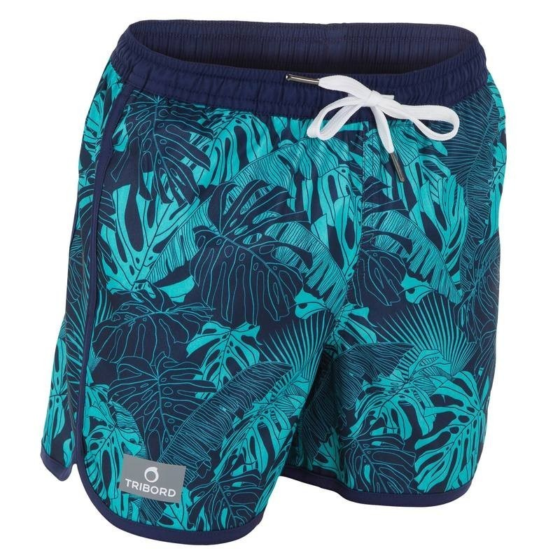 Boardshort court garçon Bidarte Forest Blue