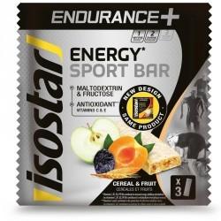 Barres énergétiques LONG ENDURANCE céréales et fruits 3x40g
