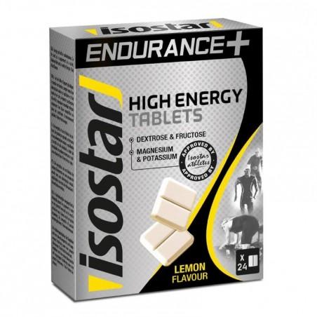 Tablettes énérgétique HIGH ENERGY citron 24x4g