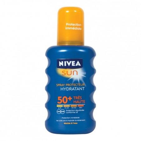 Crème de protection solaire NIVEA SPRAY SOLAIRE IP50+ 200ml